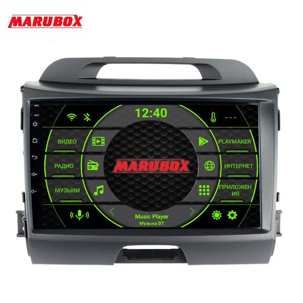 Marubox 996PX5 DSP, Kia Sportage için 4 GB RAM 64 GB ROM Baş Ünitesi 2010-2016 Araba Multimedya Oynatıcı, Android 9.0, 9 '' IPS ekran araba dvd