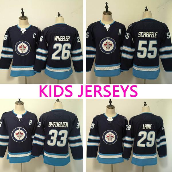 official photos da25b 8ea5a winnipeg jets kids jersey
