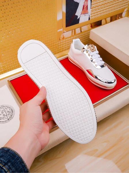 2019z nuove scarpe di lusso su misura, scarpe basse scarpe sportive da uomo, confezione originale scatola di scarpe, yardage: 38-44