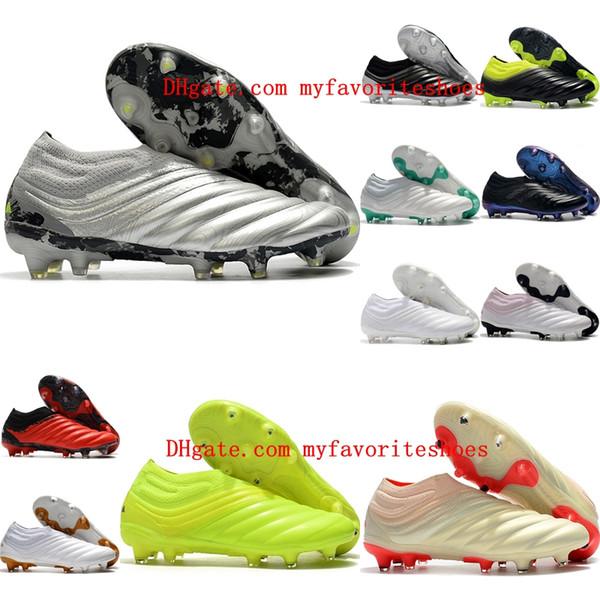 2020 новое прибытие мужские футбольные бутсы Copa 20 + FG футбольные ботинки дешевые Copa 19 FG футбольные бутсы Scarpe калсио на открытом воздухе