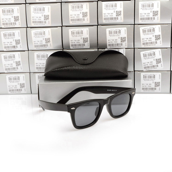54MM Black Frame Grey Lens Polarized