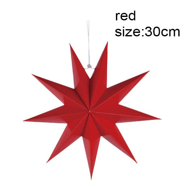 9 angles 30cm rouge