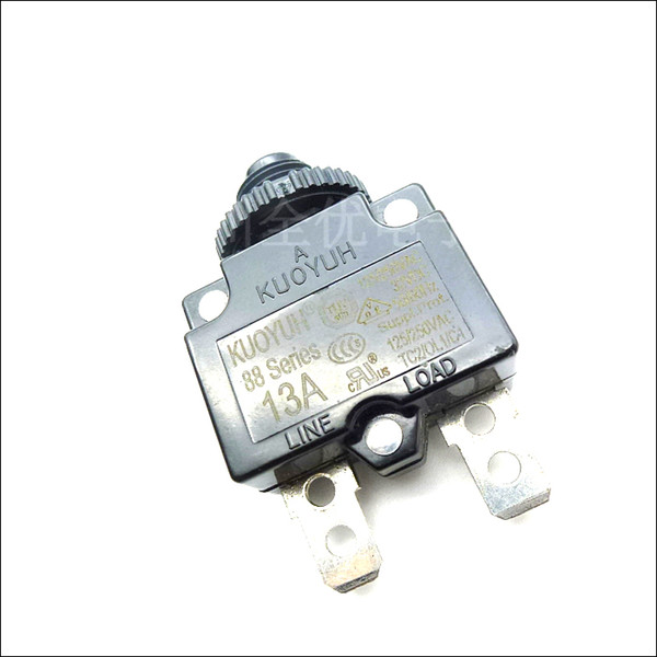 best selling Taiwan KUOYUH Overcurrent Protector Overload Switch 88 Series 13A