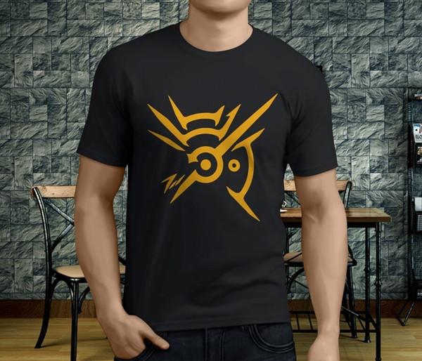 Nuovi popolari giochi disonorato The Outsider uomo t-shirt nera S-3XL uomo donna moda unisex tshirt spedizione gratuita