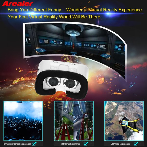 VR 3D Virtual Reality Glasses Helmet Cardboard Headset VR Box Devices Case For Android and iOS Smart Phones