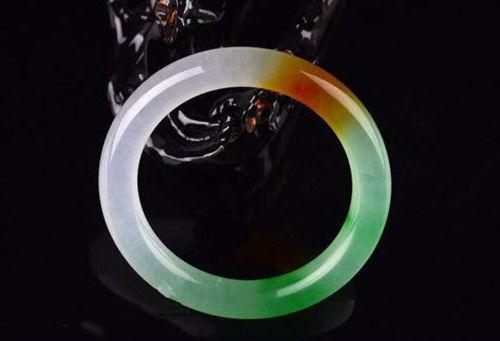 Fine Jewelry Chinese Natural Beautiful Emerald Green Nephrite Jade Bangle Bracelet Free Shipping