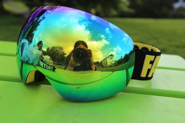 FAITHCOOL kayak googles çift UV 400 anti-sis büyük maske kayak gözlük erkek ve kadın snowboard gözlük ücretsiz kargo toptan