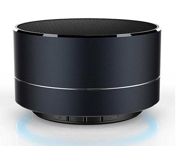 2019- LED MINI Bluetooth Speaker A10 TF USB FM Wireless Portable Music Sound Box Subwoofer Loudspeakers For Phone PC
