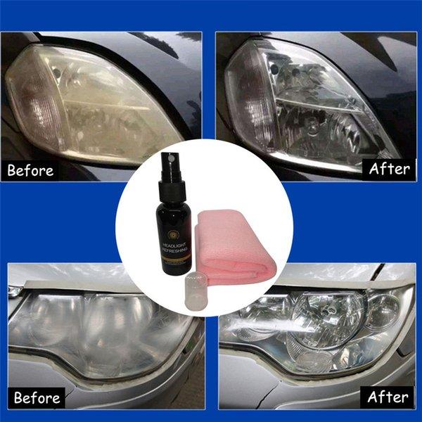 Aktualisieren Flüssigkeit zerstäubt Beschichtungsverfahren Auto Auto Vorderlicht-Lampe Schwarz Praktische Haltbar Qualität 50ML l0429 Verwenden