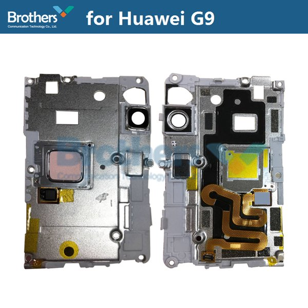 Fingerprint Sensor Plate For Huawei G9 Scanner Flex Cable Camera Lens Frame Holder For Huawei G9 Phone Replacement High Quality