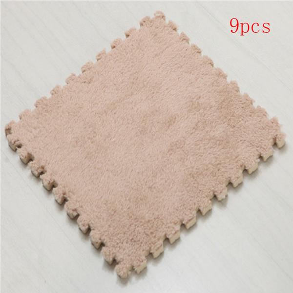 baby EVA Foam Play Mat 9pcs/lot Interlocking Exercise Tiles Floor Carpet Rug for Kid