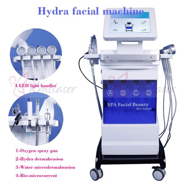 2019 New 8 in1 Hydro Dermabrasion Facial Machine Water oxygen jet Peeling Diamond Microdermabrasion Machine Facial Care Skin Rejuvenation