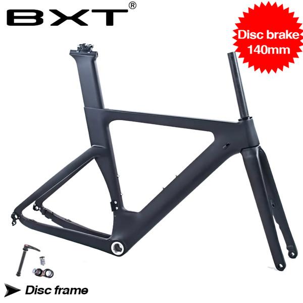 Telaio Mtb Titanio Bxt New Carbon Road Bike Telaio Freni A Disco Di2 Meccanico In Fibra Di Carbonio Ciclismo Su Strada Bsa Disco In Carbonio 140mm