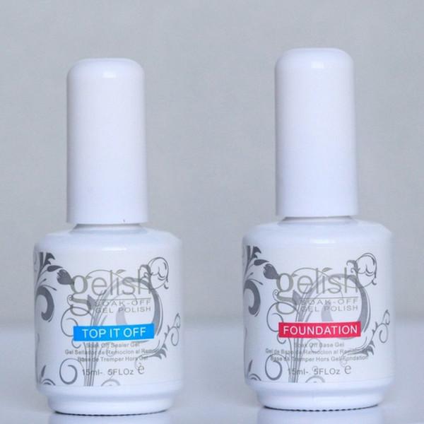 2style Harmony Gelish Nagellack STRUCURE GEL Tränken Sie aus Klarnagel LED UV Gel Polish TOP es weg und Foundation Nail Art Beauty Nägel
