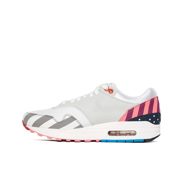 2019 Parra 1 White Multi Running Shoes for mens womens Rainbow Park Men Trainers Shoes Women Netherland Designer Piet Sneakers Size 36-44