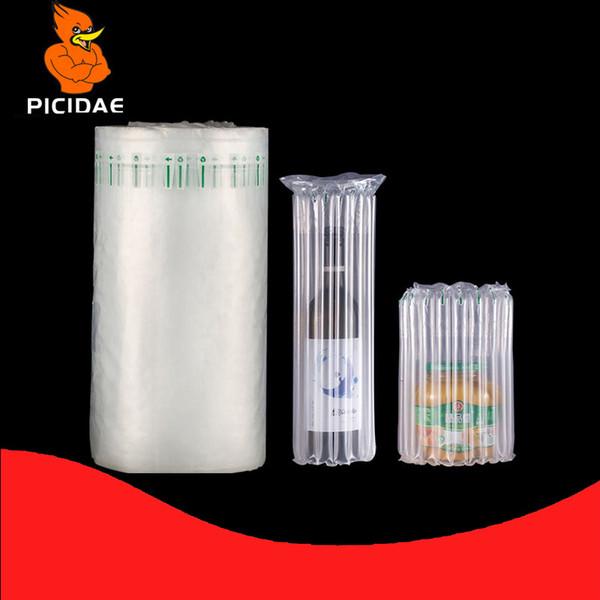 GONFIABILE 7 COLONNE bottiglia di vino Air Bag imballaggio Cuscino di protezione antiurto