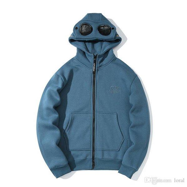 Delle donne degli uomini del progettista del cappotto hoodies 19ss CP Company Moda alti giacca a maniche lunghe invernale di Donne Male Asiatica Misura M-2XL