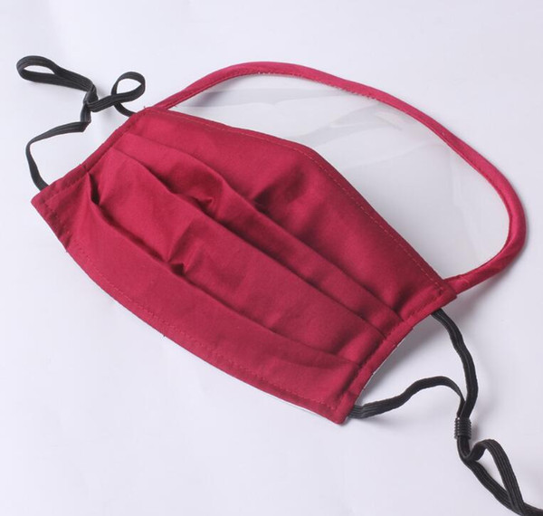masque avec 1 pcs Filtre (Rouge)