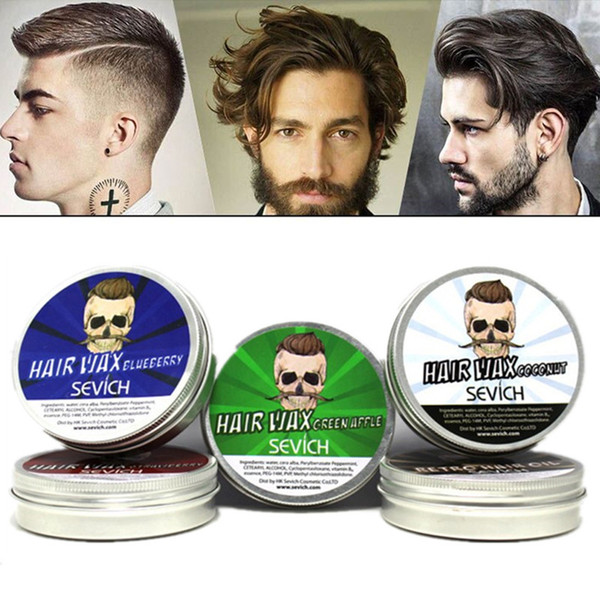 top popular Sevich Professional Styling Products Strong Hold Hair Gel Wax Long lasting Dry Stereotypes Cream DHL Free Shipping 2021