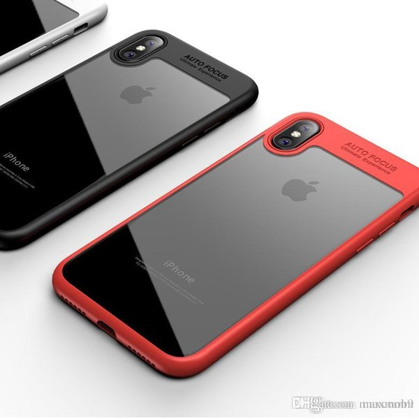 New Luxury cell phone case for iphone xs max xr x 6S 7 8 PLUS liquid TPU frame bumper case cover slim soft liquid transparent design case