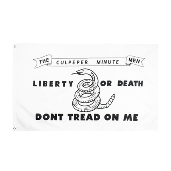 top popular Direct factory 3x5fts 90x150cm american dont tread on me snake american gadsden Flag for decoration Wholesale HN296 2021