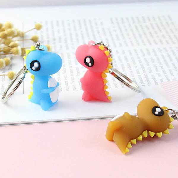 Compre 3d Keychain Dos Desenhos Animados Dinossauro Pequeno Chaves