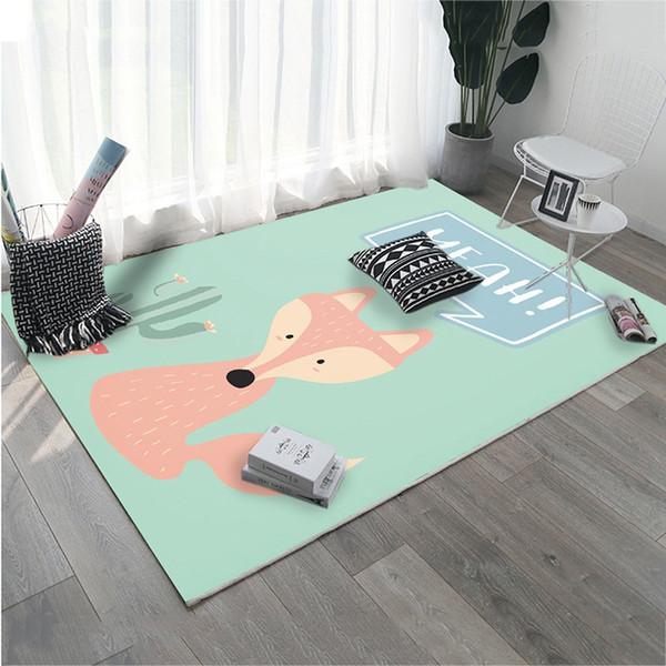 Großhandel Neue Stile Teppich Tapis Salon Teppich Kinderzimmer Rutschfeste  Spiel Gym Spielmatte Bodenmatte Tür Kinder Teppiche Für Wohnzimmer Von ...