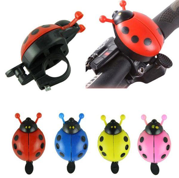Yeni Bisiklet boynuzları Halka Gidon uğur böceği Bell Horn Loud Ses Alarm Bisiklet Bisiklet çan açık Spor Bisiklet Bells Aksesuarları için