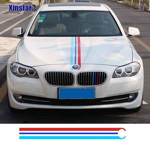 M power performance car head sticker for BMW F30 F10 E60 E90 M3 M4 M5 320 330 328 520 530 550 E39 E46 E53 E60 E61 E64 E70 E71