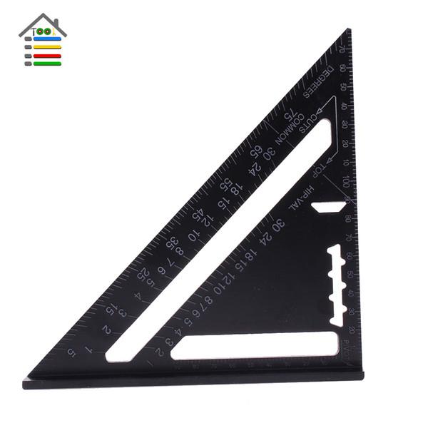 easuring Messwerkzeuge Messgeräte Aluminium Dreieckiges Messlineal 7 Zoll Metrisch Premium Dachsparren Quadrat Geschwindigkeit Quadrate Dach Dreieck ...