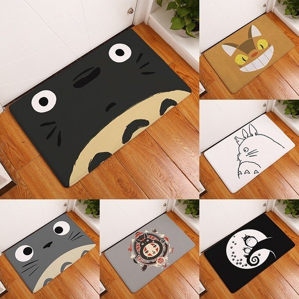Welcome Waterproof Door Mat Cartoon Cute Totoro Kitchen Rugs Bedroom  Carpets Decorative Stair Mats Home Decor Crafts Buying Carpet Carpet Costs  From ...