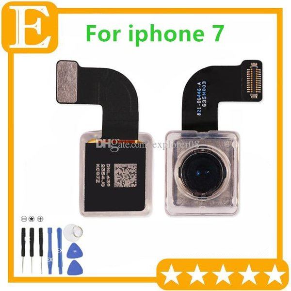OEM Back Rear Camera Module Flex Cable Ribbon for Apple iPhone 7 7G 4.7'' Big Camera Flex Replacement Parts 1PCS