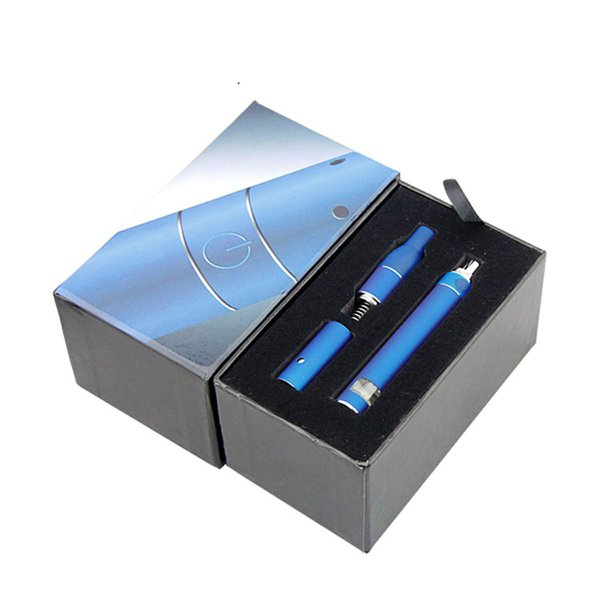 Ago g5 starter kits dry herb vaporizer vape pen e cigarette kit with ago atomizer LCD Puff counts portable vape pens vaporizer kit