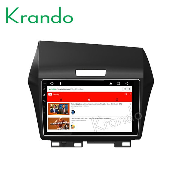 "Krando Android 8.1 9""Full touch Big screen car dvd Multimedia player for Honda Jade 2013+ navigation system radio gps wifi BT"