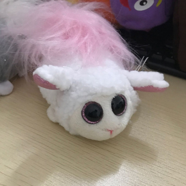 Ty Beanie Boos TY Teeny Tys Big Eyes 10CM sheep Plush Toy Doll Kawaii Stuffed Animals Collection Lovely Children's Gifts