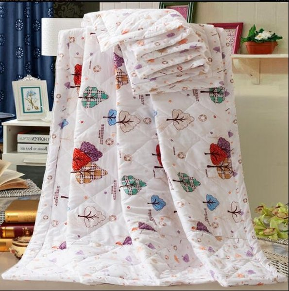 Neue sommer klimaanlage quilt sommer quilts abdeckung kinder single drei schiff waschbar bett heimgebrauch großhandel 110 * 150 cm fg642
