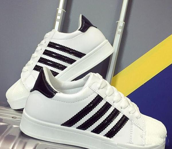 Bahar erkekler ve kadınlar çiftler kabuk kafa klasik spor eğlence küçük beyaz ayakkabı erkekler ve kadınlar kabuk kafa kurulu ayakkabı a54