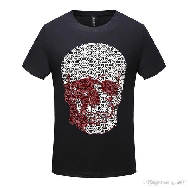 En iyi Erkekler Harajuku T Shirt Karikatür Kafatası Montaj Hattı T-Shirt Japon Tarzı Streetwear Boy Tshirt Yaz Tees Tops Pamuk