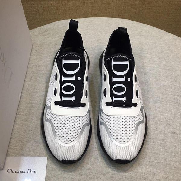 Atmungsaktive Herrenschuhe Luxus-Sneakers Flache Plattformen Mit Original-Schachtel B21 Neo Sneaker In Technischer Strick Herrenschuhe Casual Schuhe