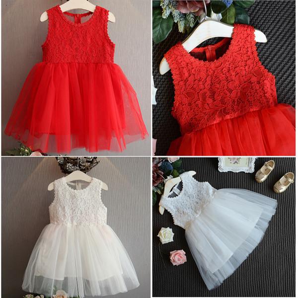Toddler Girl Summer Princess Dress Kid Baby Party Wedding Skirt Sundress Dresses