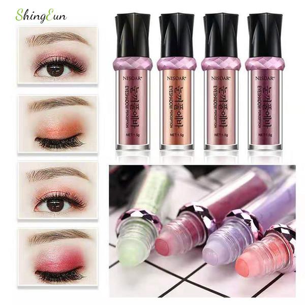 Nissi Bead Walking Eye Shadow 16 Colors Eyeshadow Glitter Pigment Loose Makeup Palette