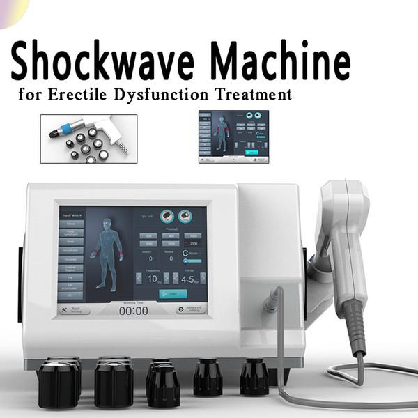 Beliebteste Generation ED Griff Original Stoßwelle erektile Dysfunktion Stoßwellenbehandlungsmaschine für Mann Penis CE geprüft
