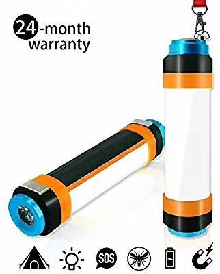 Supfire LED Lampe de poche lanterne Lampe de poche étanche Camping USB Torche LED Lampe de poche pour le camping Randonnée pédestre d'urgence à vélo