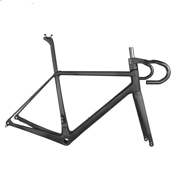 Road Racing Fibra di carbonio colore nero prezzo full carbon telai bici da strada telaio bici FM639 dimensioni 50 cm, 52 cm, 54 cm 56 cm