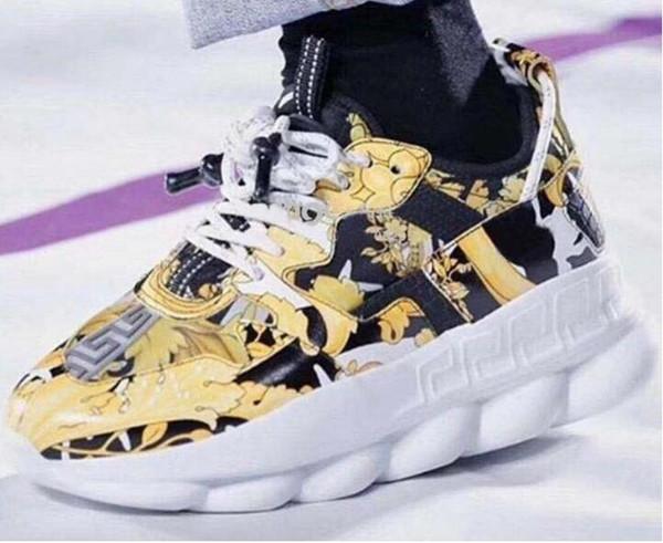 Scarpe casual Lates New Chain Reaction Brand mens 039 Scarpe casual design Scarpe da ginnastica sneaker Scarpe da design a maglia leggera 30