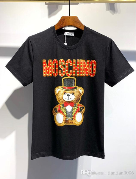 Hızlı Kargo Yeni Moda Ve Özgün Tasarım Erkekler Ve Kadınlar Tişörtlü Saf Pamuk Kısa Kollu T Gömlek boyutu m-3xl28