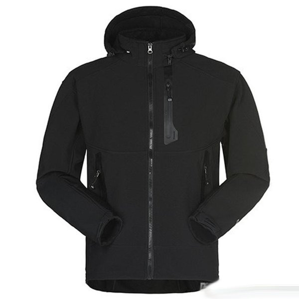 giacche di design da uomo di lusso manica lunga giacca a vento windrunner uomini Zipper impermeabile giacca faccia a nord con cappuccio cappotti vestiti
