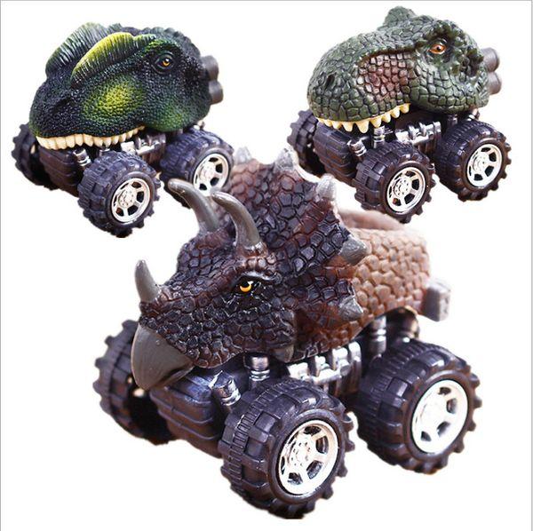 Giocattolo del regalo del giocattolo del dinosauro del giocattolo dei bambini del giocattolo del regalo animale dei bambini mini Giocattolo divertente del regalo di KID del giocattolo delle automobili di rimbalzo