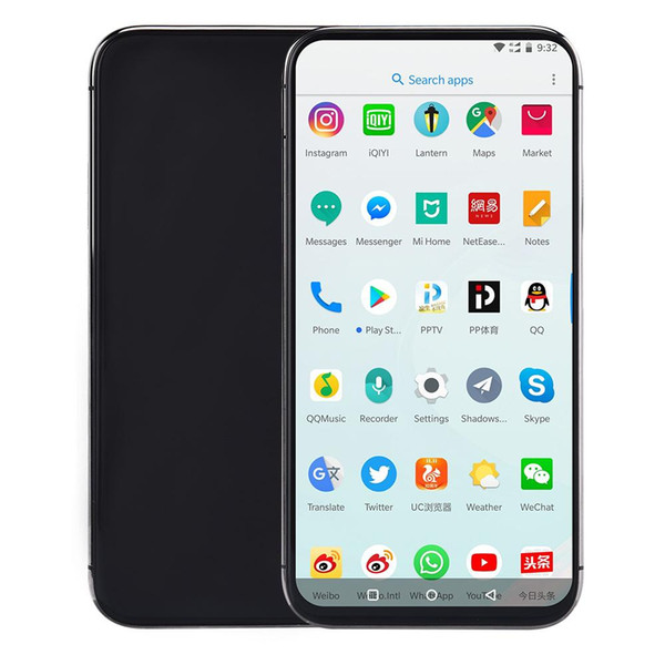 goophone Xs Max Smartphone MTK6580 1G Ram 4G/8G/16G Rom Memory 1300W 200W Camera Mobile Phone can Shown fake 256G 4G LTE Cellphone DHL free