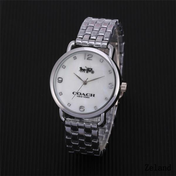 65f89f1e27ee Relojes de lujo calientes Marca C Casual mujeres hombres relojes Pareja reloj  de cuarzo big bang